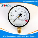 4′′ Brass Connector General Pressure Gauge