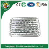 Aluminum Foil Container Plate and Tray for Barbecue and Baking