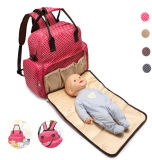 Multifunction Polyester Big Capacity Mummy Nappy Baby Diaper Bag