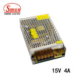 Smun S-60-15 60W 15VDC 4A Output AC-DC Switching Power Supply
