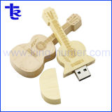 Bamboo Wooden Guitar USB Stick Driver Pen Drive Flash Disk