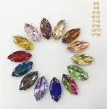 Horse Eye Decorative Sew on Rhinestones Crystals for Clothing