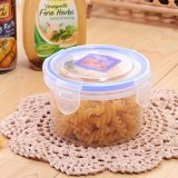 Rectangle and Round Vegetable Storage Plastic Container, Airtight PP Food Container Box