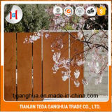 Building Material with Weather Resistant Steel Plate