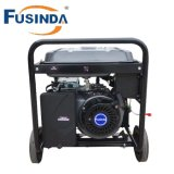 M6500e 5kw High Quality Gasoline Generator with AC Single Phase, 220V and Cover