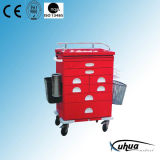 Moveable Hospital Medical Medicine Trolley (N-10)