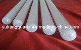 Milky White Long Quartz Glass Tube, Furnace Quartz Glass Tube
