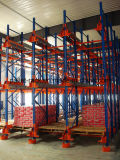 Radio Shuttle Pallet Rack System for Automatic Warehouse