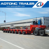 200 Tons 8 Line 16 Axles Hydraulic Steering Modular Semi Trailer