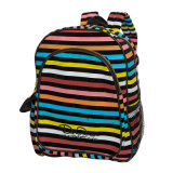 Kids School Backpack with Stripe DOT Printing (DR-07-2)
