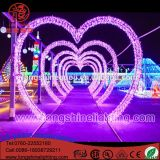 Factory LED 3D Large Love Arch Light Outdoor Decotation Arch Street Motif Star String Light