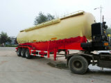 China Brand Bulk Cement Tank Semi Trailer with Diesel Engine