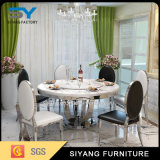 Home Furniture Dining Set Round Table Glass Dining Table