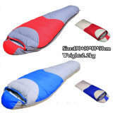 Mummy Sleeping Bag with Compression Pack for Camping and Hiking