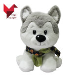2017 OEM Design Dog Husky Plush Toys Promotion Gifts