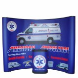 Magnetic Pop up Booth Backdrop Banner Display Exhibition Stand for Advertising