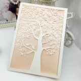 Direct Factory Wholesale Laser Cut Wedding Invitation Card