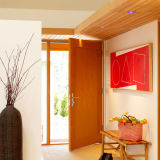 Simple Ddesign PVC Wooden Doors Prices