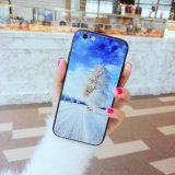 2018 Phone Accessories Tempered Glass Phone Case Back Cover for iPhone 6
