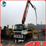 Putzmeister Concrete Machinery 37m Concrete Pump Mounted on Isuzu Truck Chassis