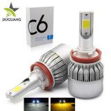High Power LED Auto Lamp H7 H4 H13 9005 9006 C6 Automotive Headlight Bulb
