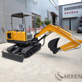 China Household Mini Electric Bucket Backhoe Excavators Mini Digging Machinery