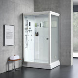 Europe Ce Indoor Sauna Cabin with Shower Bath
