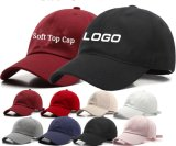 Cotton Sport Wholesale Custom Logo Korean Men′s Baseball Cap Comfortable and Breathable Soft Top Cap