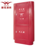 Hot! ! Popular Red Fire Hose Reel Box and Fire Extinguisher Box for Big Vertical Fire Cabinet