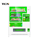 Tcn Large Capacity Beverage & Drink Automatic Vending Machine with Media