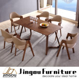 Modern Furniture Wood Restaurant Dining Table and Chair for Home