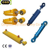 Lift Table Dump Trailer Parts Factory Customized Hydraulic Cylinder for Industrial Machines
