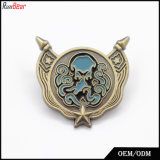 Custom Wholesale Clothes Decoration Metal Badge