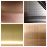 Ss 304 316 Hairline Stainless Steel Sheet for Kitchen Cabinet Decoration