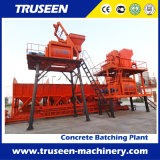 Sale in Russian Hzs75 Concrete Mixing Station/Construction Equipment