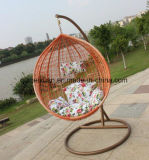 Cane Hanging Basket to Indoor and Outdoor Balcony Hanging Swing Chair Cushion Adult Bird's Nest Single Rocker Cradle (M-X3537)