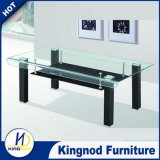 Modern Curved Glass Design Coffee Table