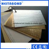 PVDF Aluminum Plastic Composite Panel, Plastic Bulding Aluminum Decoration Material