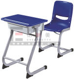 Cheap Single Student Desk and Chair for Classroom Furniture