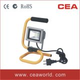 10W Portable LED Flood Light with Ce & SAA Certification LED Outdoor Work Lamp