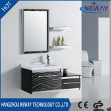 Classic Wall Mounted Steel Single Bathroom Vanity with Mirror