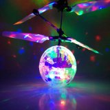Flying Toy Ball Disco Helicopter Shining Colorful Flying Drone