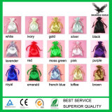 Cheap Colorful Organza Drawstring Gift Pouch