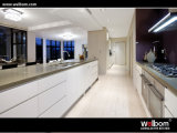 2015 New Welbom High Glossy Lacquer White Kitchen Cabinet Design