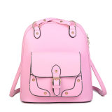 Fashion Newest Stylish Wholesale PU Leather Women Designer Backpack