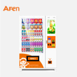 Afen Automatic Snack and Drink Vending Machine with Touch Screen