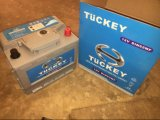Tuckey DIN62mf 12V62ah Maintenance Free Car Battery