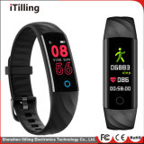 Smart Fitness Sport Watch with Bluetooth Waterproof Full Color Display and Heart Rate Monitor