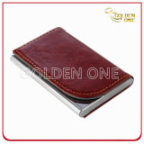 Promotion Hot Stamped Leather Name Card Case