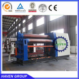 W12S series CNC hydraulic four roller metal sheet rolling machine